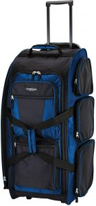 Travelers Club Xpedition 30 Inch Rolling Duffel