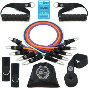 Tribe Body Resistance Bands - 12 Pieces