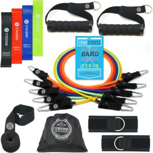 Tribe Body Weight Resistance Bands - 16 Bands