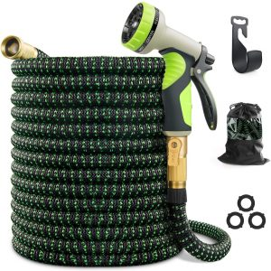 VIENECI 100ft Expandable Garden Hose