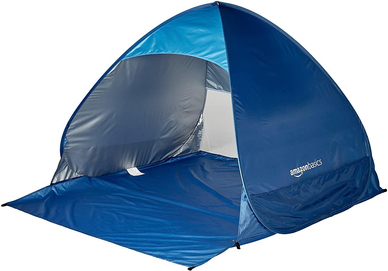 AmazonBasics Pop-up Beach Tent Sun Shade Shelter