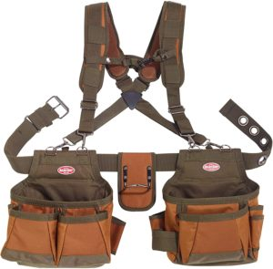 Bucket Boss Airlift 50100 2 Bag Tool Belt by Bucket Boss