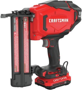 CRAFTSMAN V20 (CMCN618C1) Brad Nailer Kit, by CRAFTSMAN