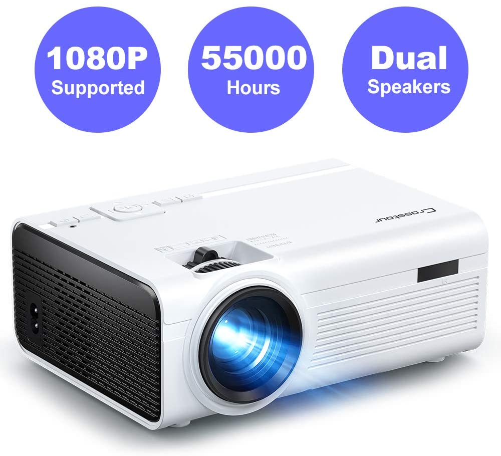 Crosstour Mini LED Video Projector