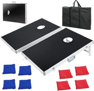 F2C Portable Cornhole 3FT x 2FT Aluminum Boards