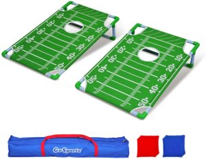 GoSports Portable PVC Framed Cornhole Game Set