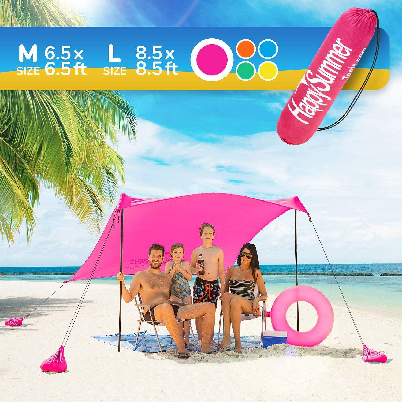 Happy summer Sunshade Beach Tent