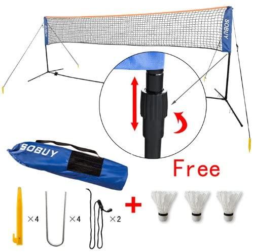 Height Adjustable Badminton