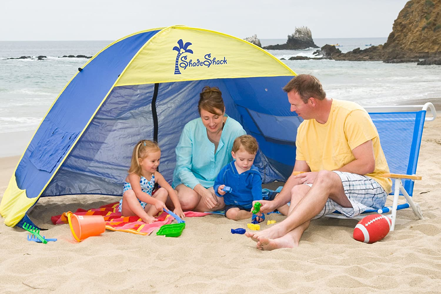 Shade Shack Beach Tent Automatic Pop up