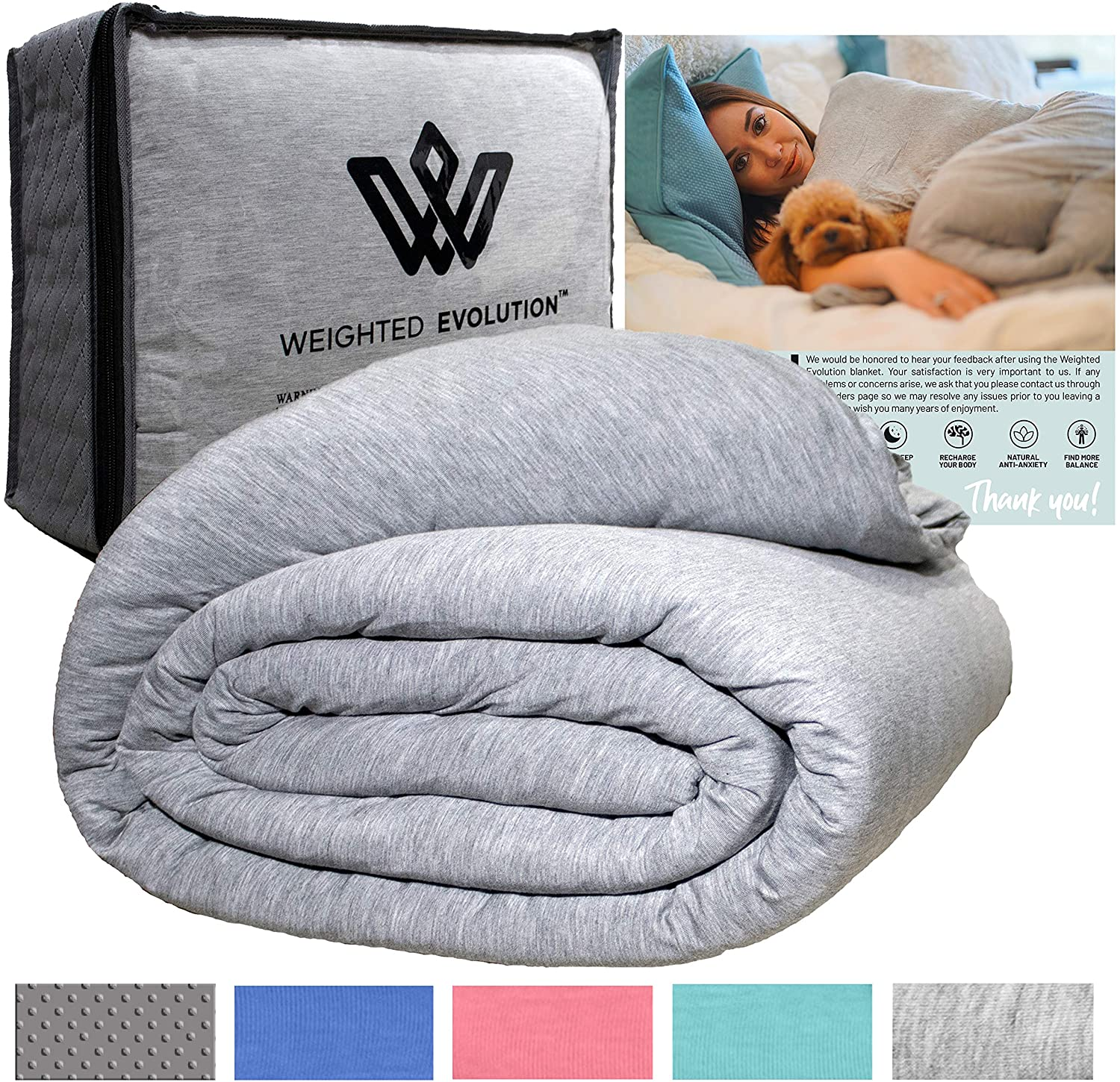 Weighted Evolution Weighted Blanket+