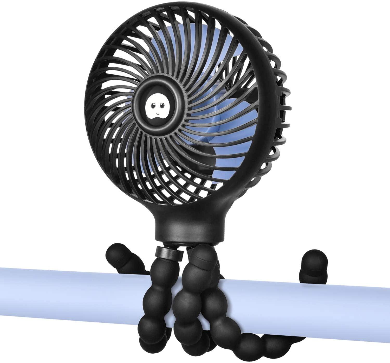 WiHoo Mini Handheld Stroller Fan