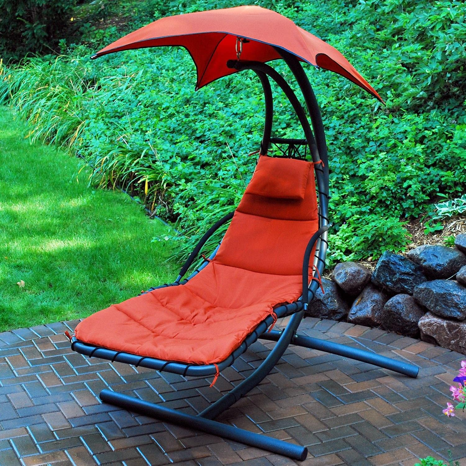 Algoma Cloud9 hanging chaise lounger