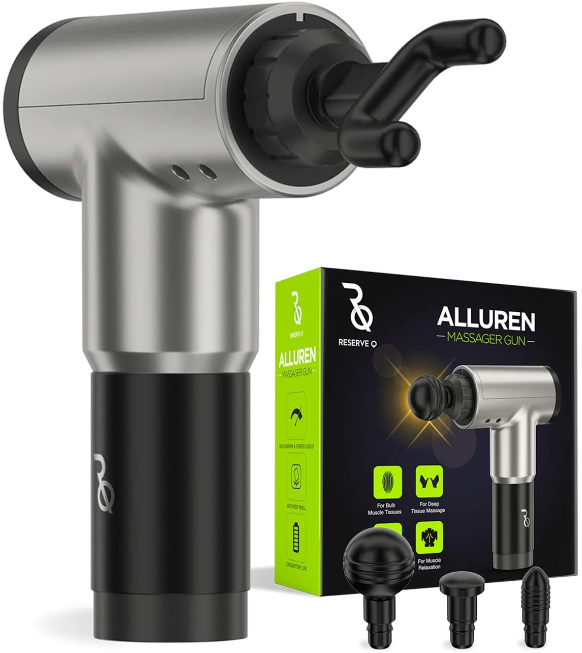 Alluren Portable and Lightweight Massager Gun