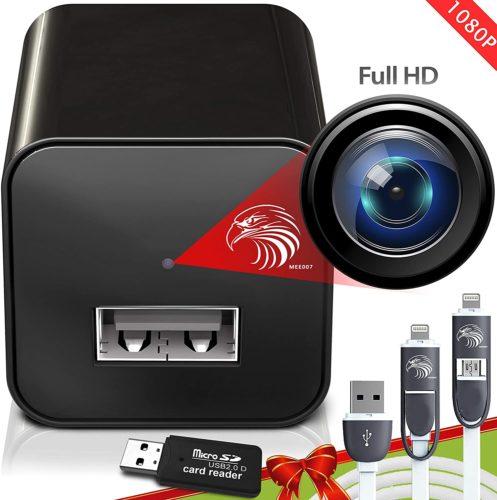 1. USB Spy Cameras Charger | Mini Spy Camera 1080p | Surveillance Camera Full HD