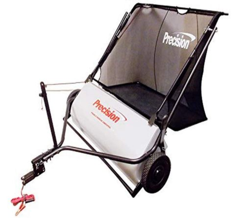 10. Precision Products Inc Power Brush Electric Lawn Sweeper