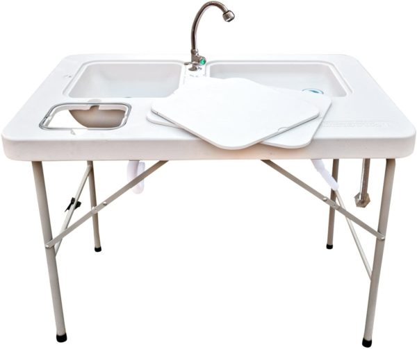 # 3. Coldcreek Outfitters Outdoors Fish Cleaning Table
