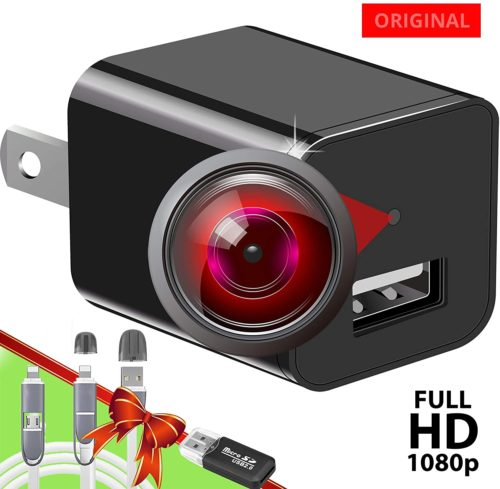 3. USB Spy Camera Charger - Hidden Camera 1080P