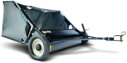 4. Agri-Fab Black Tow Lawn Sweeper