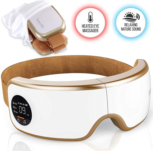 #4. SereneLife Stress Therapy Electric Eye Massager