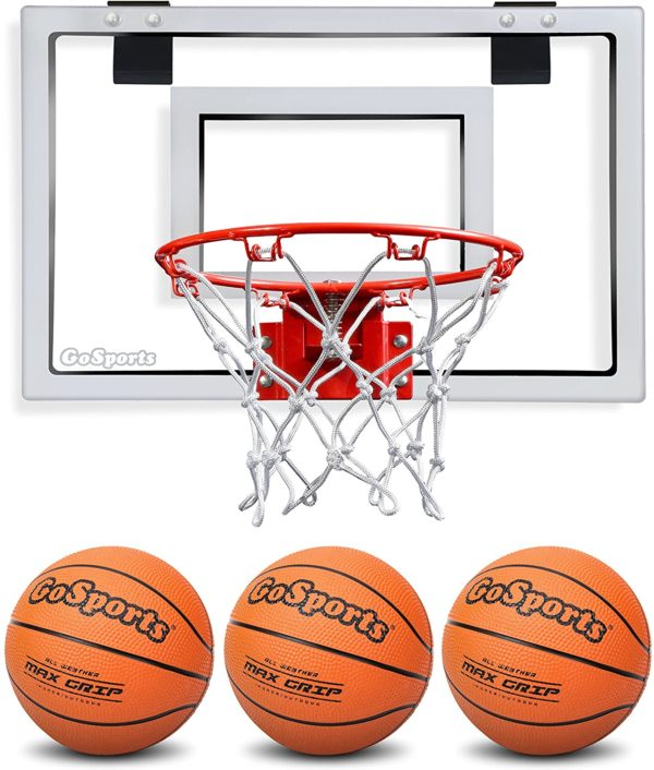 #5. GoSports Steel Pool Basketball Hoop