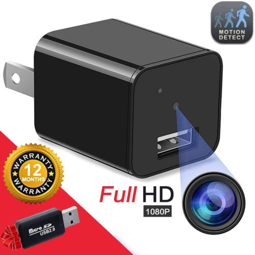 5. Hidden USB Spy Camera Full HD Surveillance Camera