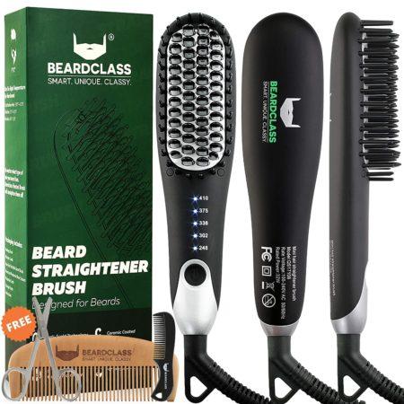 #6. Beardclass Lightweight Beard Straightening Brush