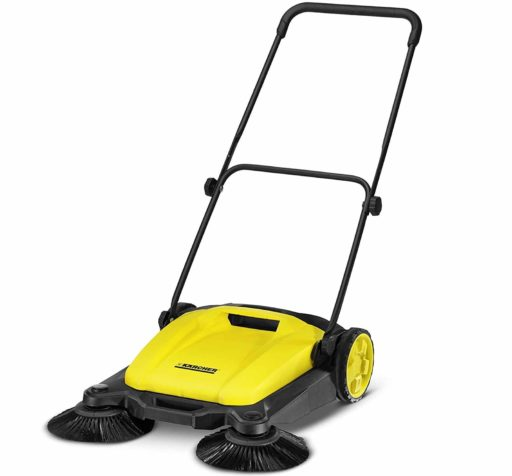6. Karcher Yellow Black Lawn Sweeper Cleane