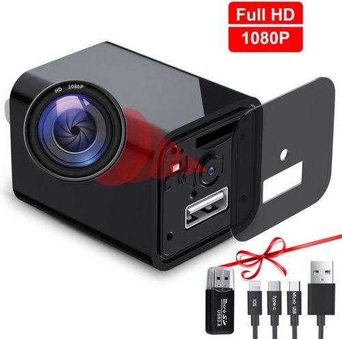 7. USB Hidden Camera Charger, Mini Spy Camera, USB Spy Camera Wall Charger