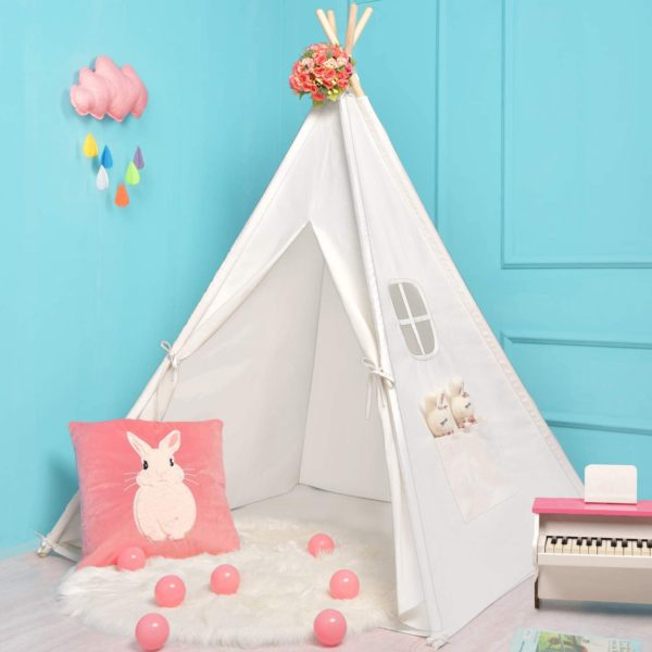 #8. Sumerice Teepee for Kids with Carry Case