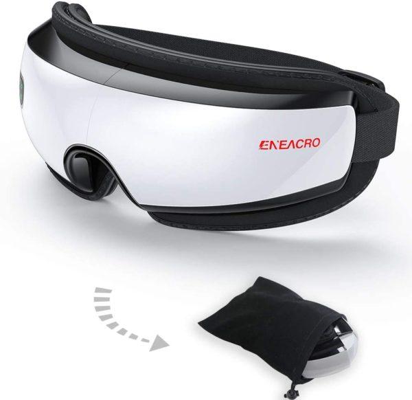 #9. ENEACRO Wireless Eye Massager with Heating
