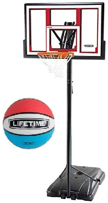 #9. Lifetime Portable Pool Basketball Hoop
