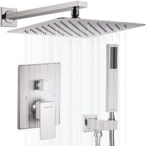 """Esnbia 12"""" Rain Shower Faucet Set System"""