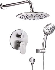 Gabrylly Shower Faucet Set System with a Valve Cartride