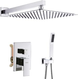 StarBath Brass and Stainless Steel Shower Faucet Set System