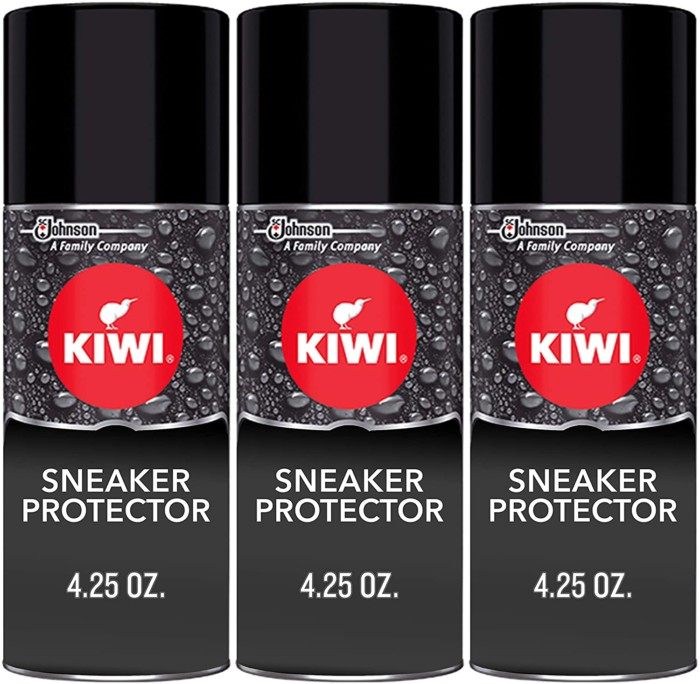 #1. KIWI Shoes Spray Leather Shoes Protector