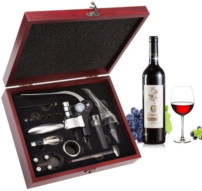 #1. Smaier Wood Wine Opener