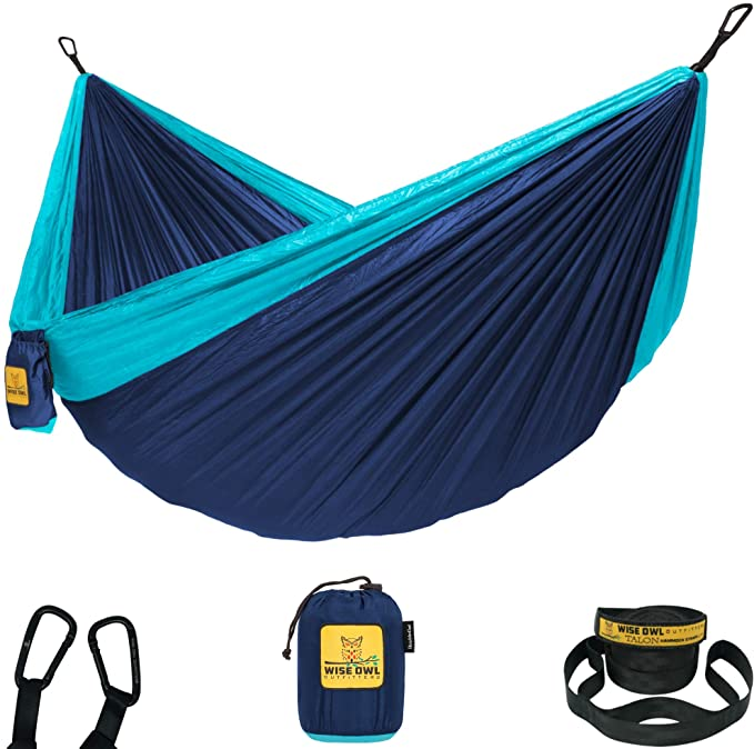 #1. Wise Owl Soft and Durable Outfitters Hammock