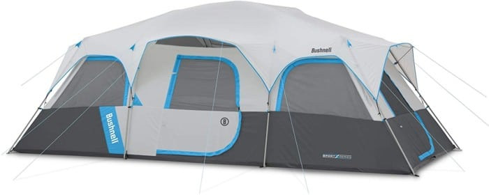#10. Bushnell 12-person Tent Sports Series