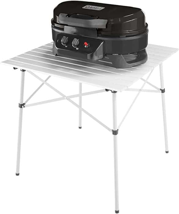 #10. Coleman Adjustable Portable Propane Grills