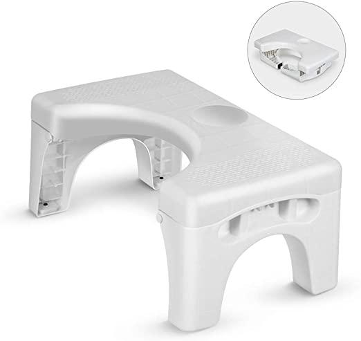 #10. Enow Foldable Toilet Step Stool