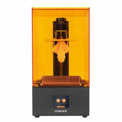10. LONGER Orange 3D Printer with 2k High Resolution and LED Lighting