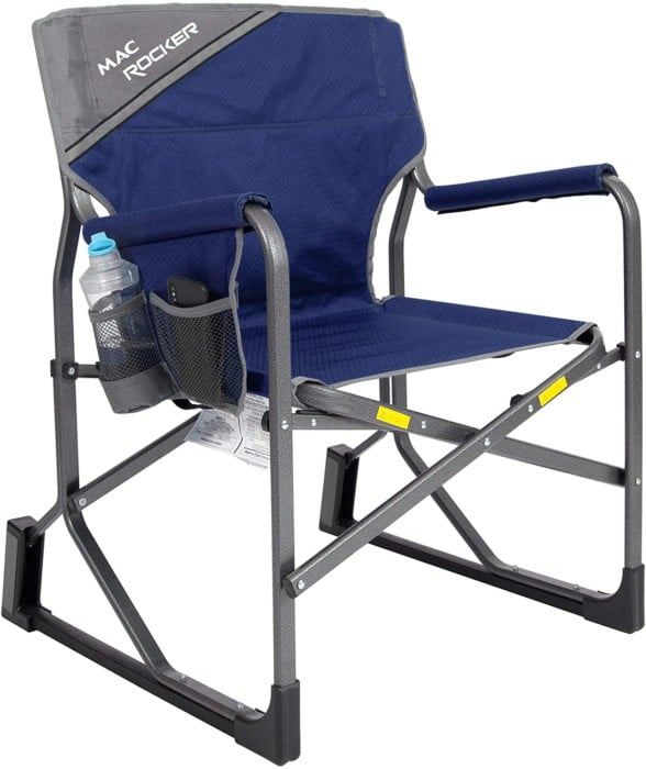 #10. MacSports MacRocker Durable Portable Rocking Chair