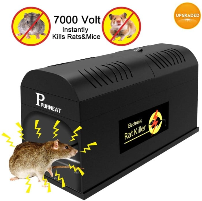 # 10. P Purneat Electronic Rodent Zapper Trap