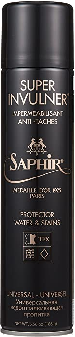 #10. SAPHIR BEAUTÉ DU CUIR Waterproof Sprays for Shoes