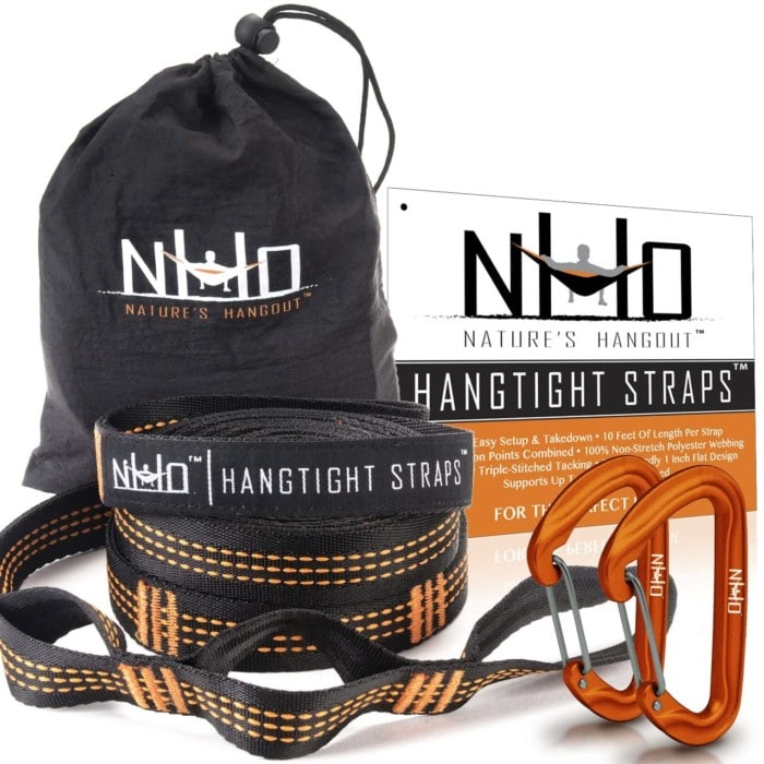#2. Nature's Hangout Strong Hammock Straps