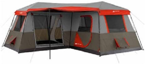 #2. OZARK TRAIL Large Tent with Room Dividers