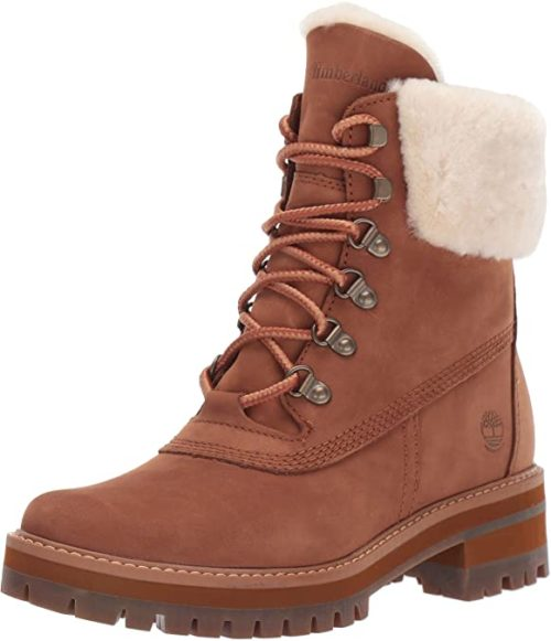 #2. Timberland Supreme Leather Combat Boots