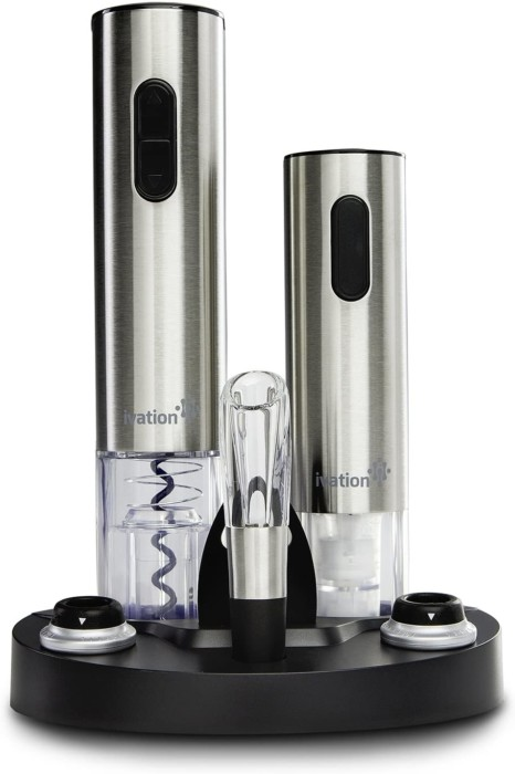 #3. Ivation Electric Wine Opening Device