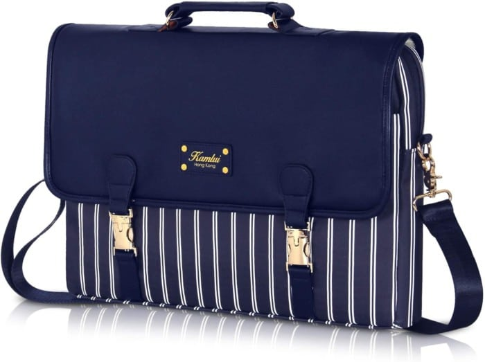 #3. Kamlui PU Leather Laptop Case
