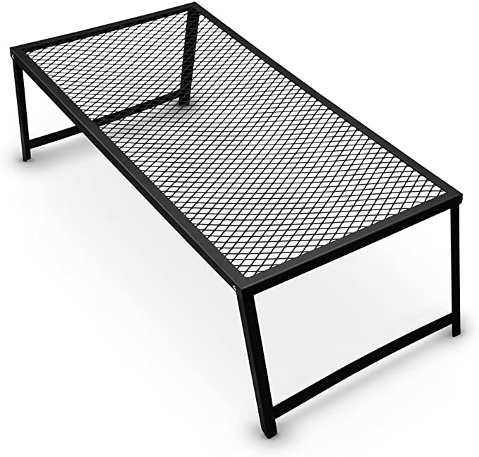 #4. Grizzly Peak Campfire Grill Grates with Steel Mesh